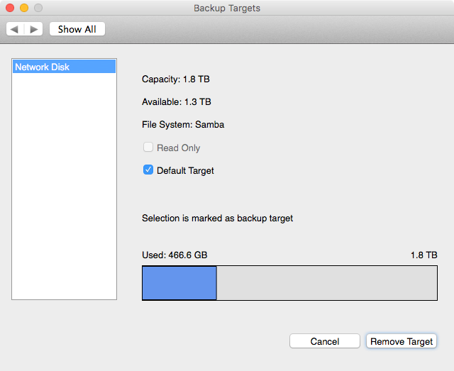 vimalin-configure-backuptarget-selected