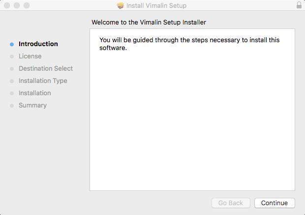vimalin-install-introduction